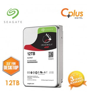 "Seagate 12TB 3.5"" IronWolf NAS SATA 256MB Cache 7200RPM Internal Hard Drive"
