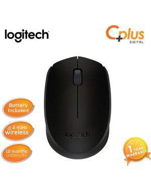 Logitech 2.4GHz Wireless Mouse - M170