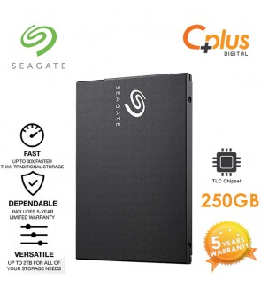 Seagate Barracuda SSD 2.5inch 250GB (3D TLC) 7mm SATA Solid State Drive