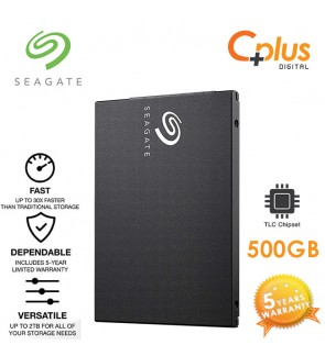 Seagate Barracuda SSD 2.5inch 500GB (3D TLC) 7mm SATA Solid State Drive