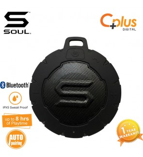 SOUL STORM - Outdoor Waterproof Wireless Speaker with Bluetooth V3.0. Powerful, Portable and Floatable.