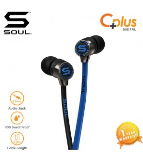 SOUL PRIME Optimal Acoustics In-Ear Headphones