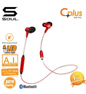 SOUL RUN FREE PRO BIO Voice Coaching Bluetooth V4.1 Wireless Running Earphones