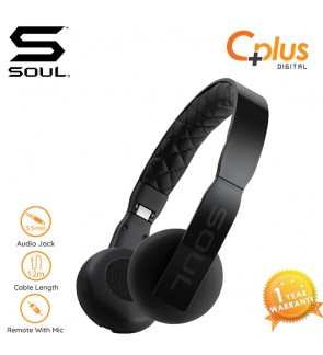 SOUL LOOP Lightweight On-Ear Headphones