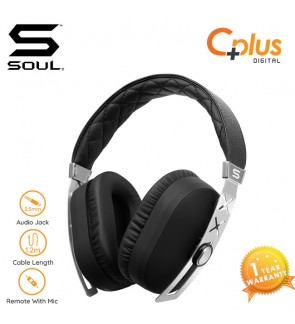 SOUL JET PRO SILVER Hi Definition Noise Cancelling Headphones