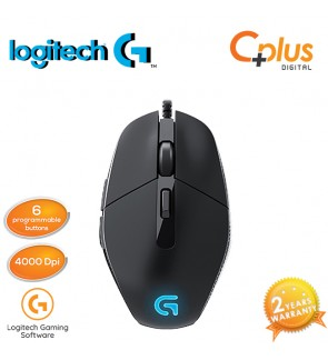 Logitech Gaming G302 Daedalus Prime Programmable 4000 DPI Gaming Mouse