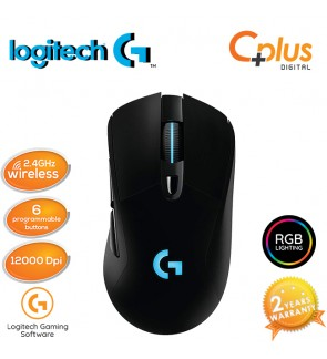 Logitech Gaming G703 Lightspeed RGB 6 Programmable Buttons 12000DPI Gaming Mouse
