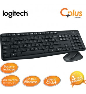 Logitech MK315 2.4Ghz Silent Wireless Combo Keyboard Mouse