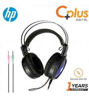HP H120 Wired Gaming Headset with Two 3.5 USB Cable With Backlight