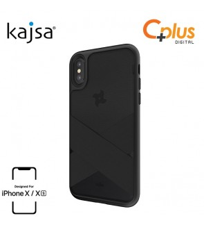 Kajsa Ninja Collection - Dual Pocket Back Case for iPhone X/XS