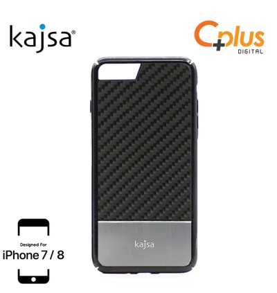 Kajsa Real Carbon Fibre back case for iPhone 7/8