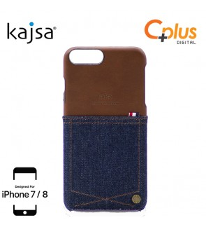 Kajsa Denim Collection Pocket Case for iPhone 7/8