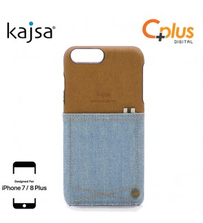 Kajsa Denim Collection Pocket Case for iPhone 7 Plus / 8 Plus