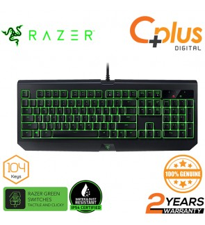 Razer Blackwidow Ultimate 2017 IP54 Mechanical Green Switch Gaming Keyboard