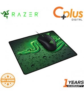 Razer Abyssus 2000DPI Gaming Mouse and Goliathus Speed Terra Mouse Mat – Bundle