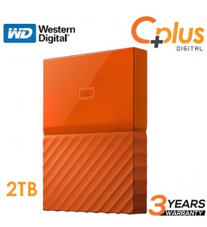 Western Digital My Passport USB 3.0 2TB Portable Hard Disk