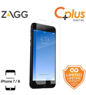 ZAGG InvisibleShield HD Glass+ Screen Protector for Apple iPhone 7/8