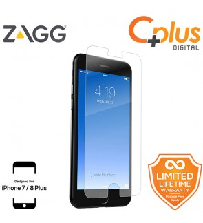ZAGG InvisibleShield HD Glass+ Screen Protector for Apple iPhone 7Plus/8Plus