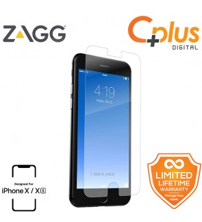ZAGG InvisibleShield HD Glass+ Screen Protector for Apple iPhone X/XS