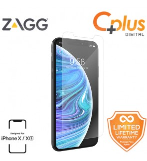 ZAGG InvisibleShield Glass+ VisionGuard - Anti Blue Light Screen Protector for iPhone X / XS