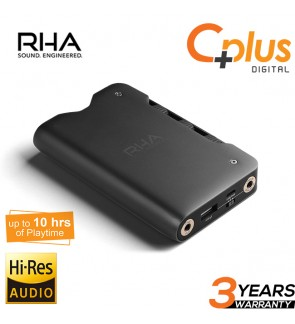 RHA Dacamp L1: Portable Headphone Amplifier & DAC Hi Res Audio with Dedicated Channel Processors