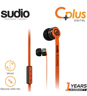 SUDIO - Klang In Ear Earphone with Mic