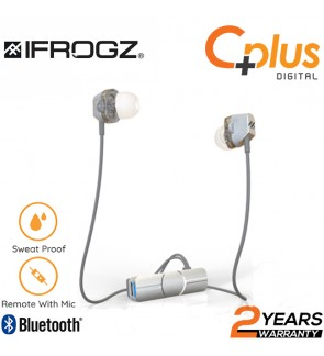 iFrogz Impulse Duo Dual Driver Bluetooth In Ear Earphone with Mic
