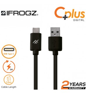 iFrogz Uniquesync Premium 3A USB to Type C Charge and Sync Cable 1.0M