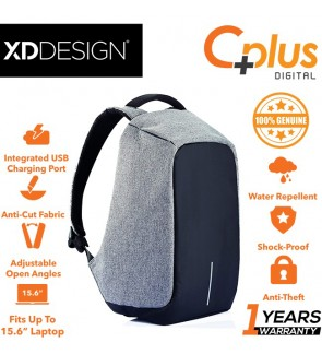 XD Design Bobby Original Anti-Theft Unisex Laptop Backpack with USB port