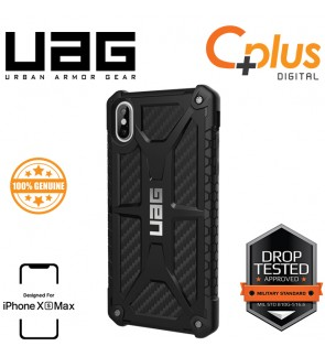 UAG Monarch Military Drop Tested Case for iPhone XS Max (Carbon Fibre)