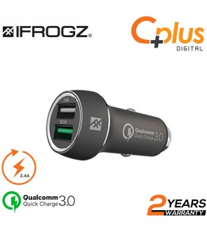 iFrogz Qualcomm Quick Charge 3.0 Auto Car  Charger