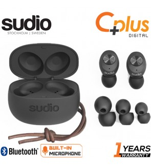 Sudio Tolv True Wireless Bluetooth 5.0 Earbuds