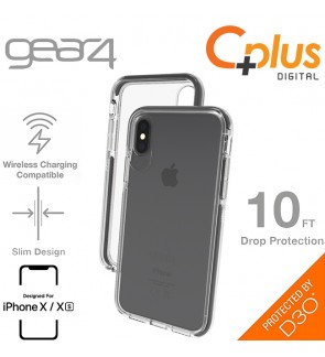 Gear4 Piccadilly with Advance Impact D3O Proctection Slim Tough Case for iPhone X /XS