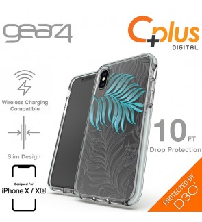 Gear4 Victoria Fashion with Advance Impact D3O Proctection Slim Tough Case for iPhone X /XS