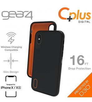 Gear4 Battlesea with Advance Impact D3O Proctection Slim Tough Case for iPhone X /XS