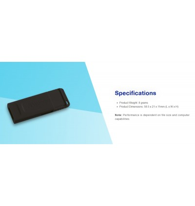 Verbatim New Slider 16GB USB 2.0 Flash Drive