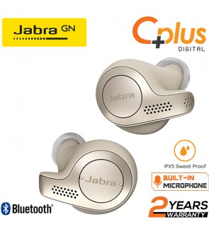 Jabra Elite 65t Noise Cancelling Wireless Bluetooth Stereo In-Ear Earphone with Charging Case