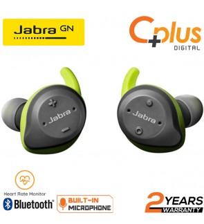 Jabra Elite Sport True Wireless Waterproof Earbuds with Heart Rate and Activity Tracker