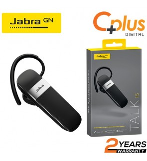 Jabra Talk 15 Bluetooth Headset for Hands-Free Calls with Clear Conversations and Easy of Use