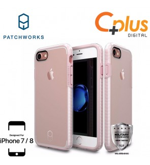 Patchworks Level Clear Case for iPhone 7 / iPhone 8