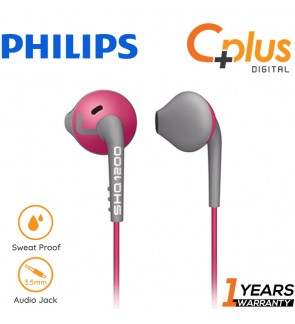 Philips SHQ1200 ActionFit Sport In Ear Headphone