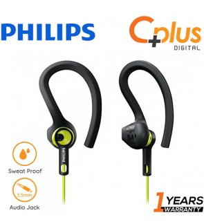 Philips SHQ1400 ActionFit Sport In Ear Headphone (3 Wearing Style)