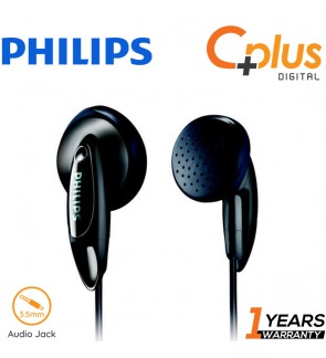 Philips SHE1350 In-Ear Headphone with Deep Rich Bass (Black)