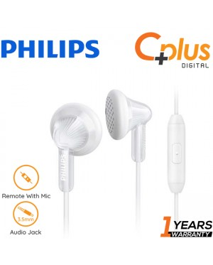 Philips SHE3015 14.8mm Speaker Drivers In-Ear Headphones with Mic