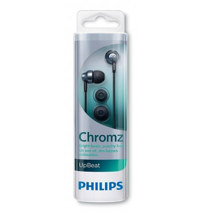 Philips SHE3850 Upbeat Chromz In-Ear Headphones with Mic