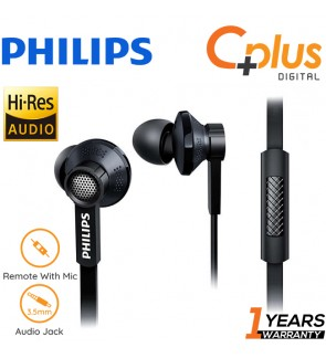 Philips TX1 HiRes Earphone HIFI Active Noise Cancelling Earphones with Mic