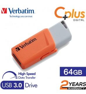 Verbatim Store N Click 64GB USB3.0 Flash Drive