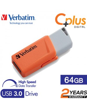 Verbatim Store N Click 64GB USB3.0 Flash Drive