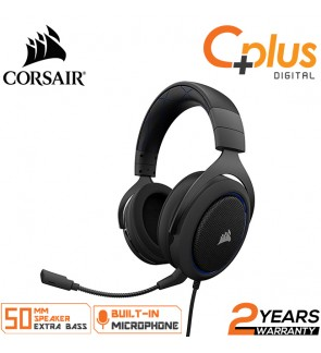 CORSAIR HS50 - Stereo Gaming Headset - Discord Certified Headphones - Works with PC, Mac, Xbox One, PS4, Nintendo Switch, iOS and Android