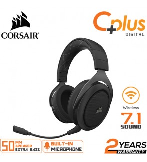 Corsair HS70 Wireless - 7.1 Surround Sound 50mm Driver Gaming Headset - Discord Certified Headphones - Special Edition